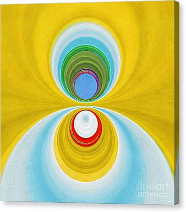 Cones Canvas Print by Paul Wilford
