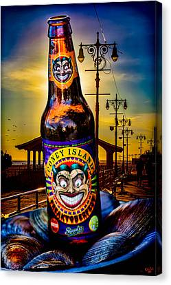 Coney Island Beer Canvas Print by Chris Lord