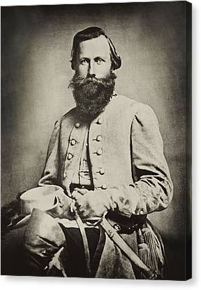 Confederate Jeb Stuart Canvas Print by Paul W Faust -  Impressions of Light