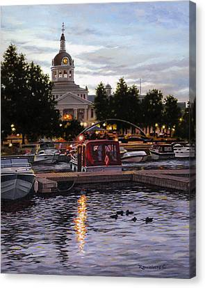 Confederation Park Canvas Print