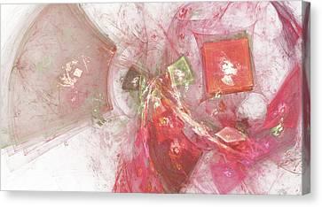 Confetti Canvas Print by Bonnie Bruno