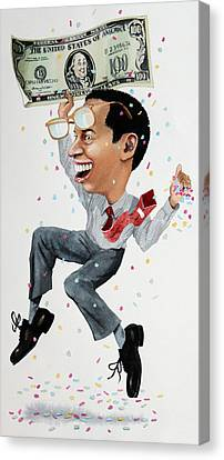 Confetti Man Canvas Print by Denny Bond