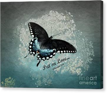 Confidante - Verse Canvas Print by Anita Faye