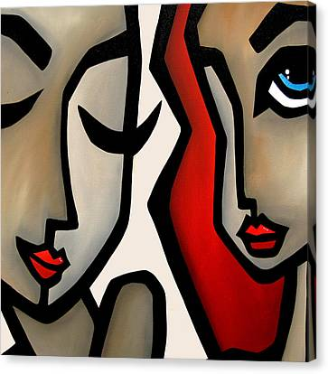 Confide Canvas Print by Tom Fedro - Fidostudio