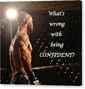 Confident Canvas Print
