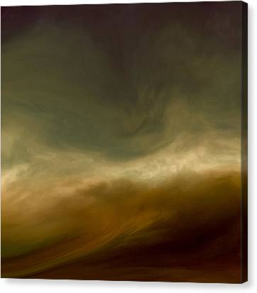 Conflicting Storms Canvas Print by Lonnie Christopher