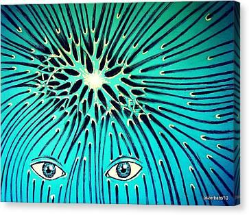 Confluence Canvas Print by Paulo Zerbato