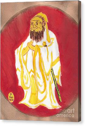 Confucius Wisdom Canvas Print by Richard W Linford