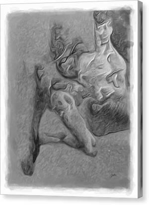 Martyr Canvas Print - Congenital Deformities  by Joaquin Abella