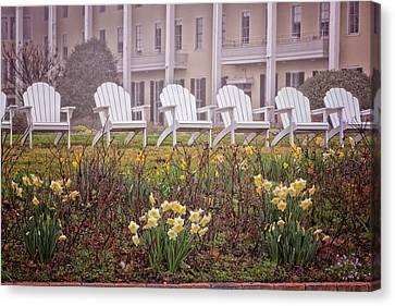 Congress Hall Spring Canvas Print by Tom Singleton