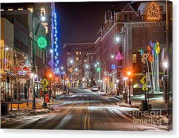 Congress Street Portland Maine Canvas Print
