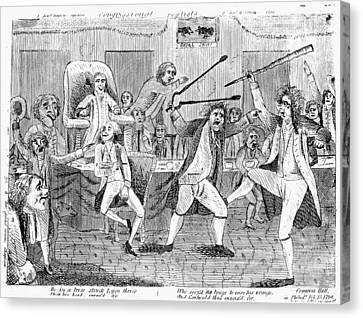 Congressional Pugilists Canvas Print by Granger