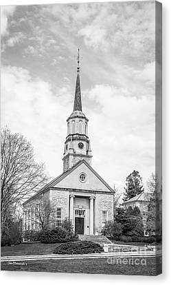 Connecticut College Harkness Chapel Canvas Print by University Icons