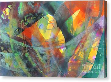 Connections Canvas Print by Lucy Arnold