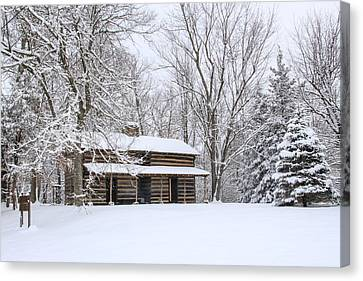 Toll House Canvas Print - Conner Toll House # 1 by Tom and Pat Cory
