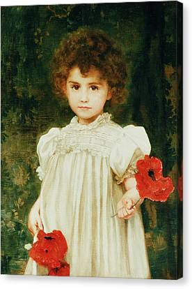 Picker Canvas Print - Connie by William Clark Wontner