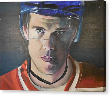 Connor Mcdavid Canvas Print by Toblerusse
