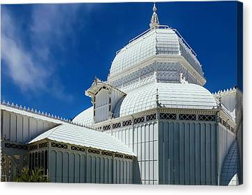 Conservatory Canvas Print - Conservatory Of Flowers Detail by Garry Gay