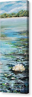 Considering Lily Canvas Print by Michele Hollister - for Nancy Asbell