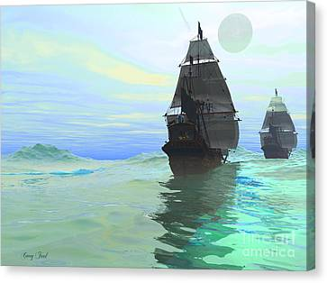 Consort Canvas Print by Corey Ford