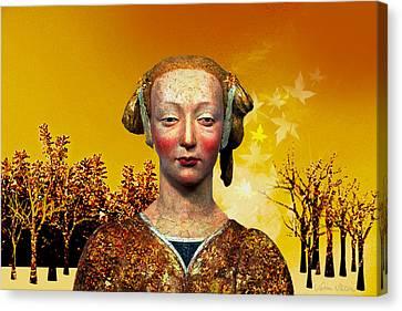 Constance  Canvas Print by Sabine Stetson