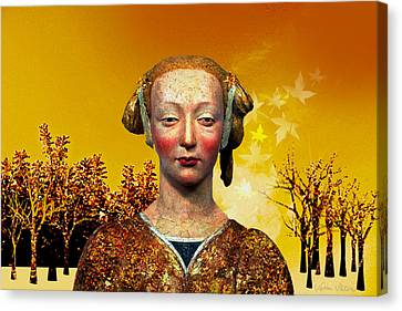 Constance  Canvas Print by Sabine Stetson