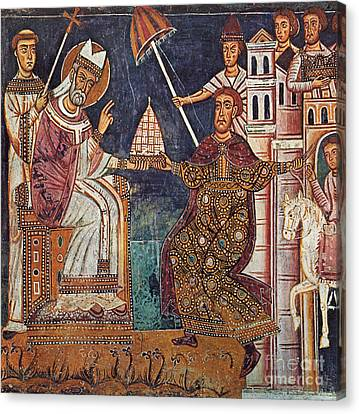 Constantine I (c280-337) Canvas Print by Granger