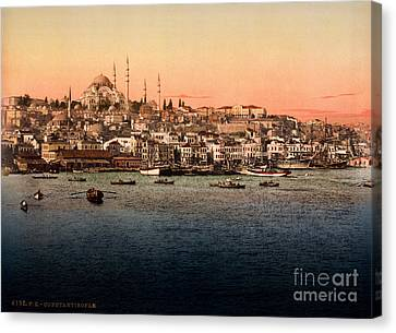 Constantinople Canvas Print by Celestial Images