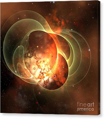 Constellation Canvas Print by Corey Ford