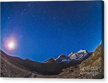 Constellations Of Perseus, Andromeda Canvas Print by Alan Dyer