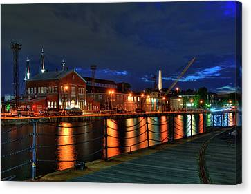 Constitution Marina - Boston Navy Yard Canvas Print