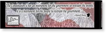 Constitutional Republic Canvas Print