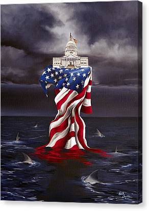 Constitution's Last Stand Canvas Print by Beth Smith