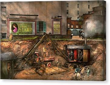 Construction - It Pays To Flirt 1916 Canvas Print