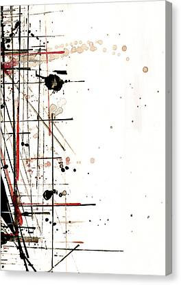 Construction No. 1 Canvas Print by Nicholas Ely