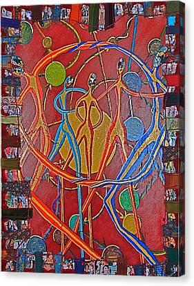 Constructive Feedback Canvas Print by Rika Maja Duevel