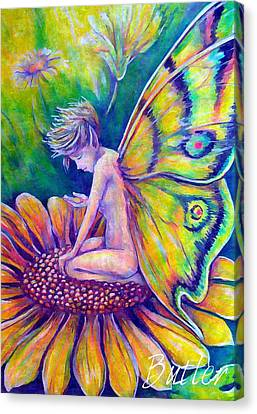 Contemplating A New Dream Canvas Print by Gail Butler