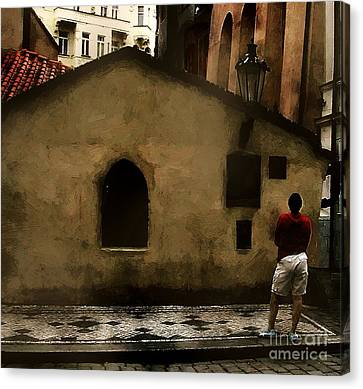 Contemplating Antiquity Canvas Print by RC DeWinter