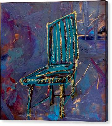 Undefined Canvas Print - Contemplating Chair#4  by Contemporary Art By PEARSE