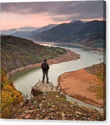 Contemplation Canvas Print by Evgeni Dinev