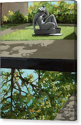 Contemplation Canvas Print by Linda Apple