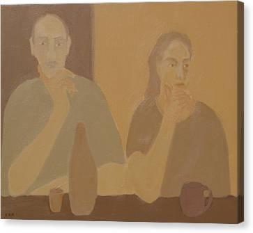 Contemplation Canvas Print by Renee Kahn