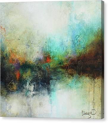 Contemporary Abstract Art Painting Canvas Print by Patricia Lintner