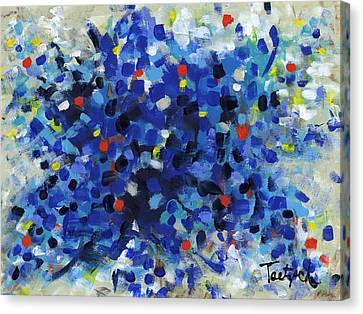 Contemporary Art Fifty Canvas Print