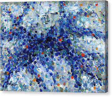 Contemporary Art Forty-nine Canvas Print