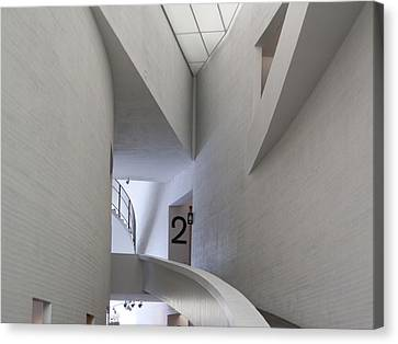 Contemporary Art Museum Interior Canvas Print