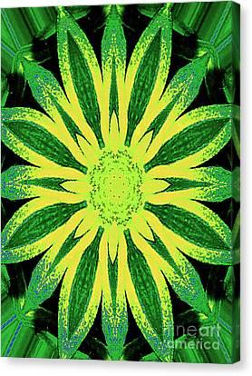 Canvas Print featuring the digital art Contemporary Mathematical 4-8-16 Octangular Art by Merton Allen