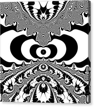 Conterialt Canvas Print