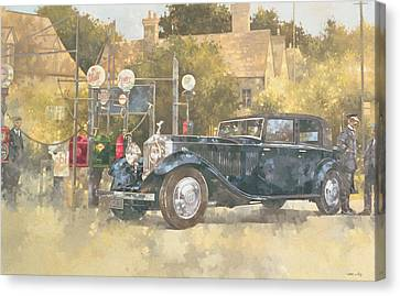 Continental Phantom Two Canvas Print by Peter Miller