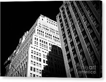 Canvas Print featuring the photograph Contrast by John Rizzuto